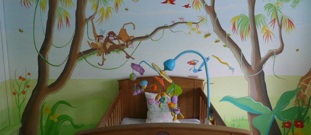 Childrens Murals London